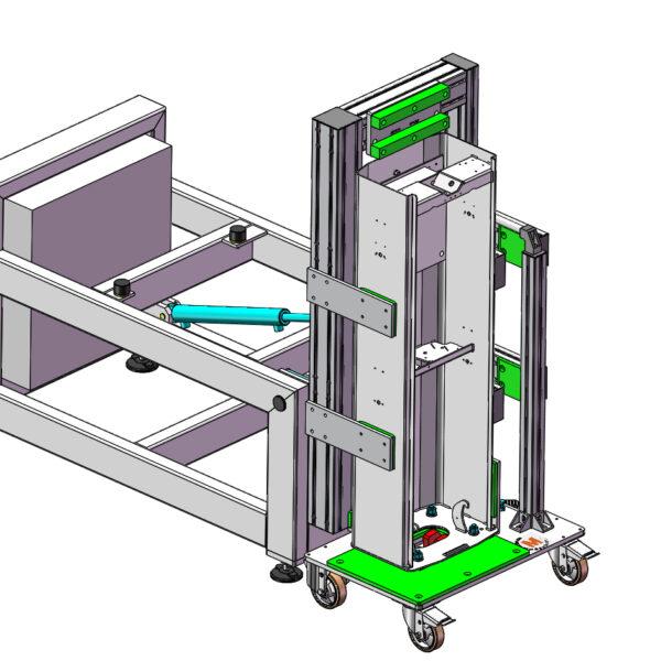 assiemaggio barriere meccatronica
