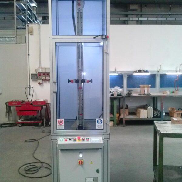 macchine lucidatura verticale meccatronica
